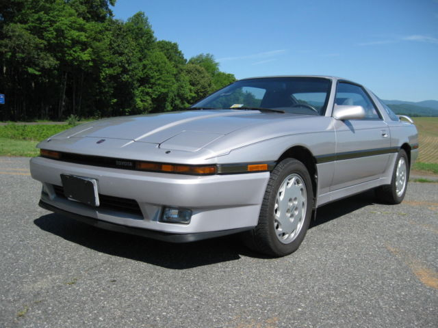 1987 toyota supra turbo 5 speed low miles all original one owner garage kept classic. Black Bedroom Furniture Sets. Home Design Ideas