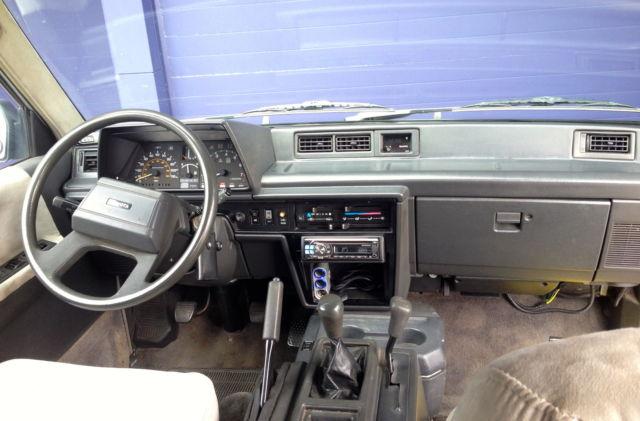 1987 Toyota Van 4x4 Custom Camper Fully Rebuilt Classic