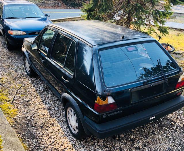 1987 Volkswagen Golf gt Wolfsburg edition, for parts or restoration - Classic Volkswagen Golf ...