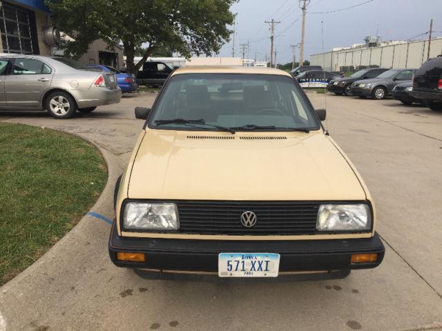 1987 Volkswagen Vw Jetta 8v Gas Automatic Resprayed In