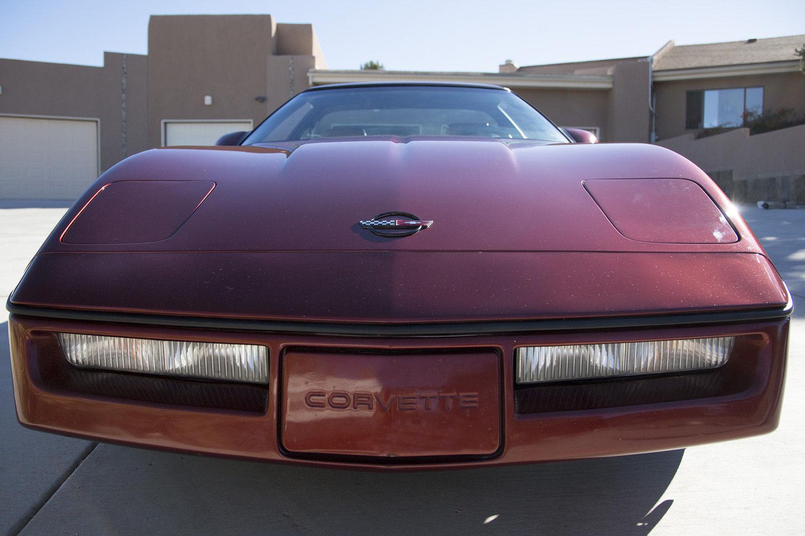 1987 Vortech Supercharged L98 Corvette Coupe Red manual Z52