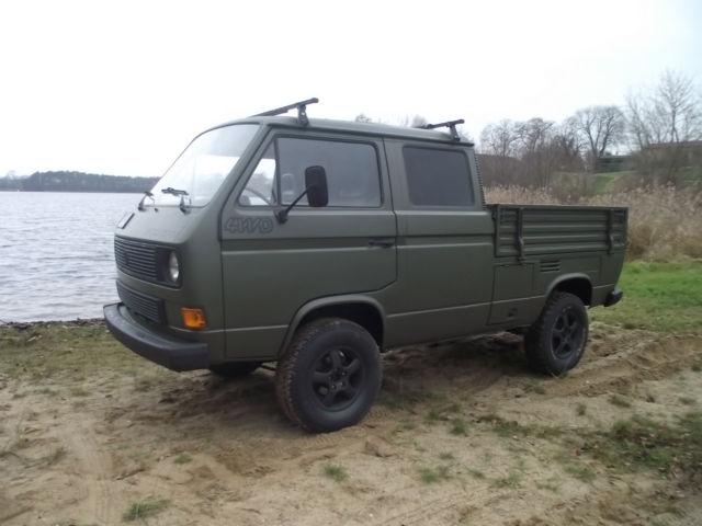 1987 VW Transporter SYNCRO 1 9 TD Diesel, 4WD Crew Cab Pickup