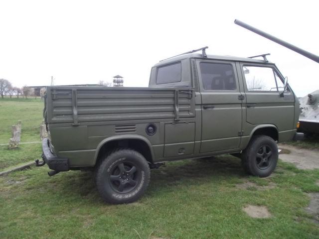 1987 Vw Transporter Syncro 1 9 Td Diesel 4wd Crew Cab