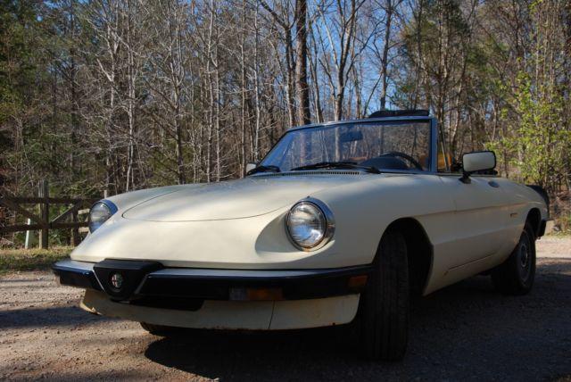 Alfa Romeo Spider Graduate Convertible Collector Restoration on Alfa Romeo Spider For Sale Usa