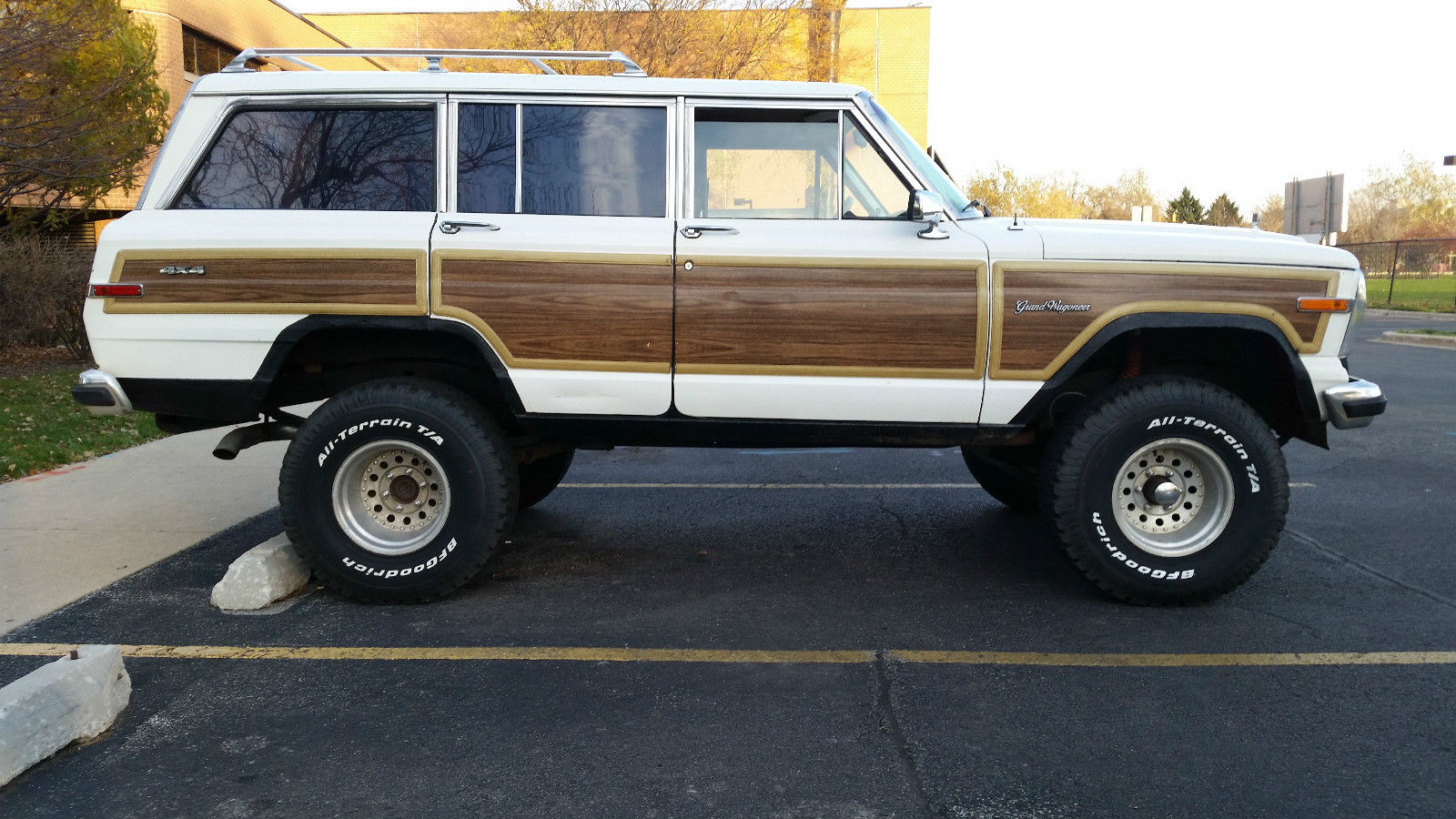 1988 Amc Jeep Grand Wagoneer Lifted California Truck With