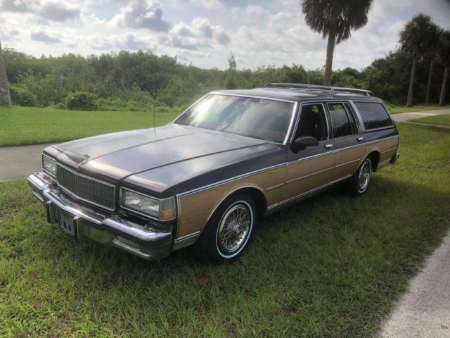 New Smyrna Chevrolet >> 1988 Antique Chevy Chevrolet Caprice Estate station wagon ...