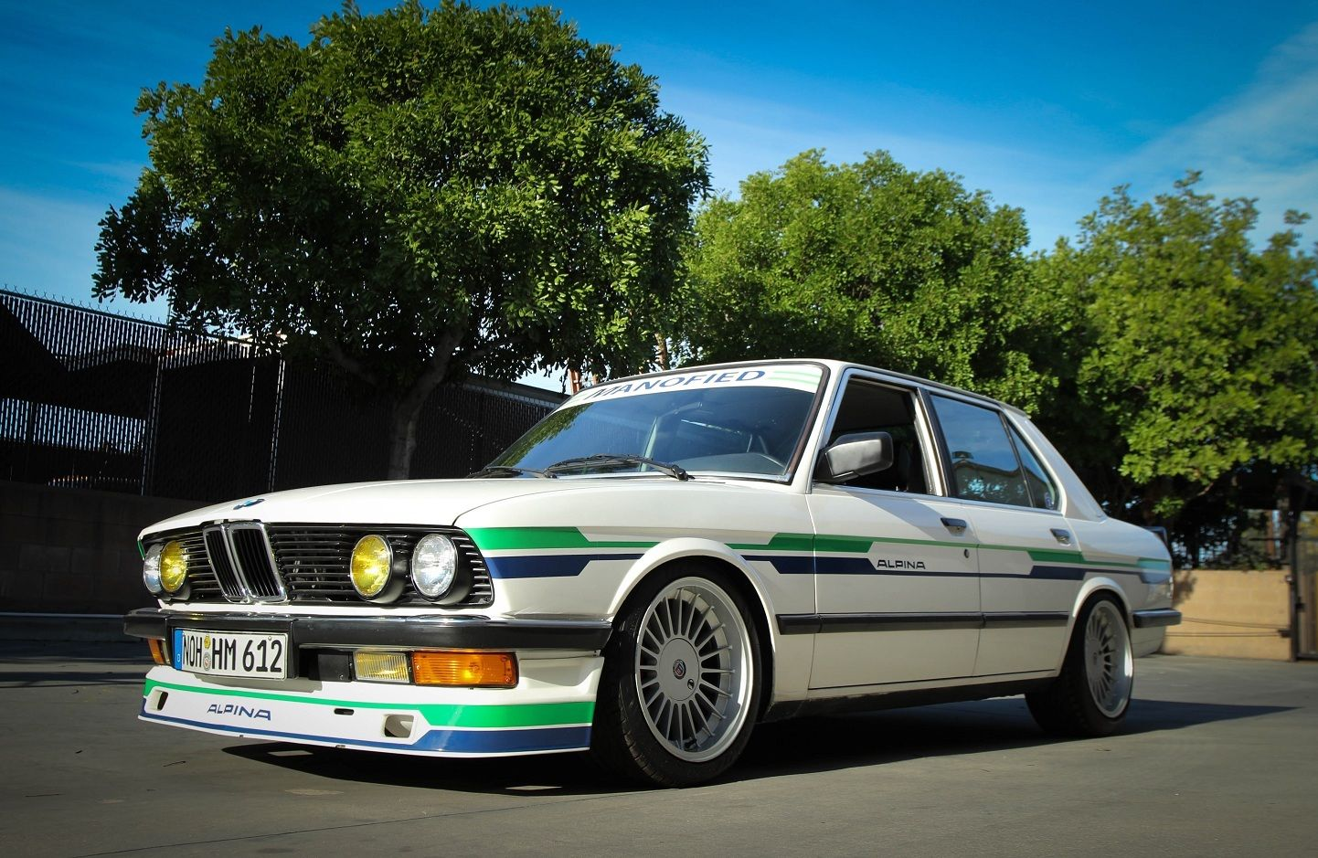 1988 bmw 535i e28 alpina b9 inspired by manofied racing ser 012 classic bmw 5 series 1988 for. Black Bedroom Furniture Sets. Home Design Ideas