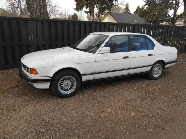 Used Cars Fort Collins >> 1988 BMW 735i E32 M/T - Classic BMW 7-Series 1988 for sale