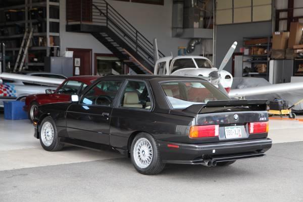 1988 Bmw E30 M3 Diamond Schwarz Natur Leather Evo Ii