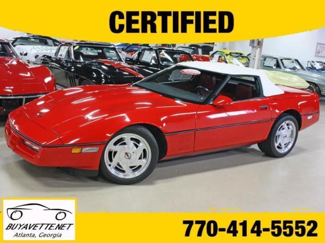 Bright Red Corvette Buyavette Inc Atlanta Classic Chevrolet - Buyavette car show