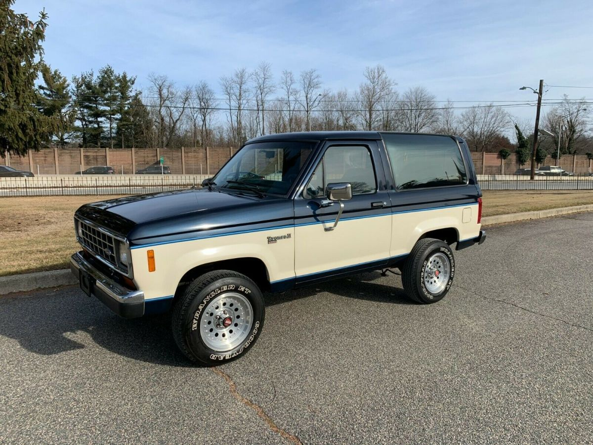 1988 Bronco Ii 4x4 50k Actual Mile Xlt Gorgeous One North Carolina Owner Classic Ford Bronco 1988 For Sale