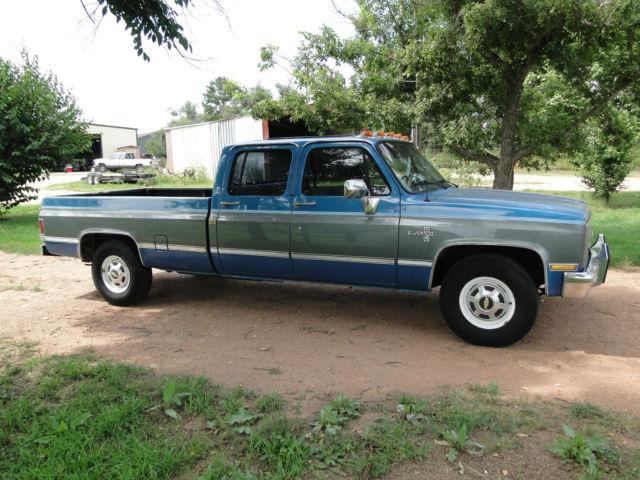 1988 C20 Chevrolet Silverado 3 4 Ton Truck 3 3 Efi 454 V 8