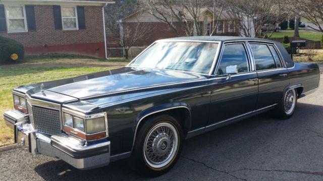 1988 Cadillac Fleetwood Brougham D Elegance 4 Door 5 0l