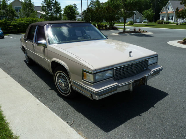 1988 cadillac sedan deville classic cadillac deville. Cars Review. Best American Auto & Cars Review