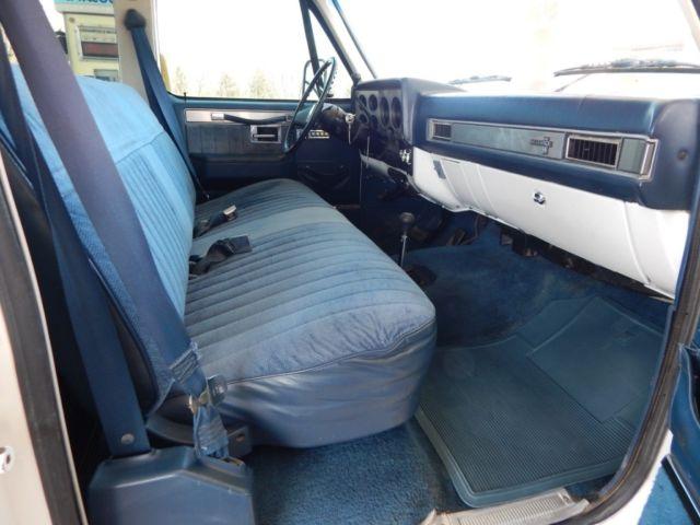 1988 Chevy 3500 Crew Cab, Silverado, Fuel Injected 454 Big ...