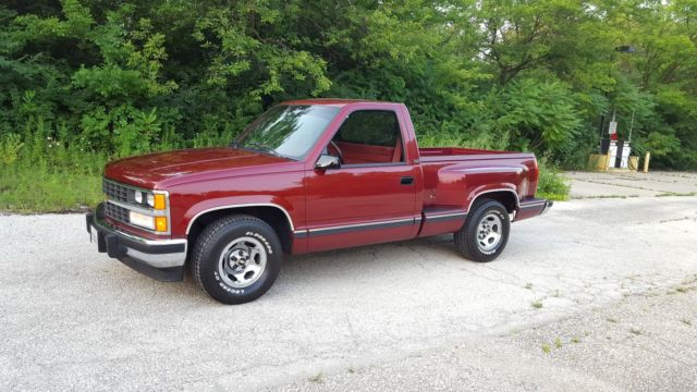 1988 chevy c1500 silverado 40 300 miles classic chevrolet c k pickup 1500 1988 for sale. Black Bedroom Furniture Sets. Home Design Ideas