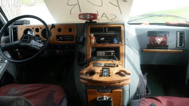 1988 chevy g20 chevy conversion van   classic chevrolet g20 van 1988