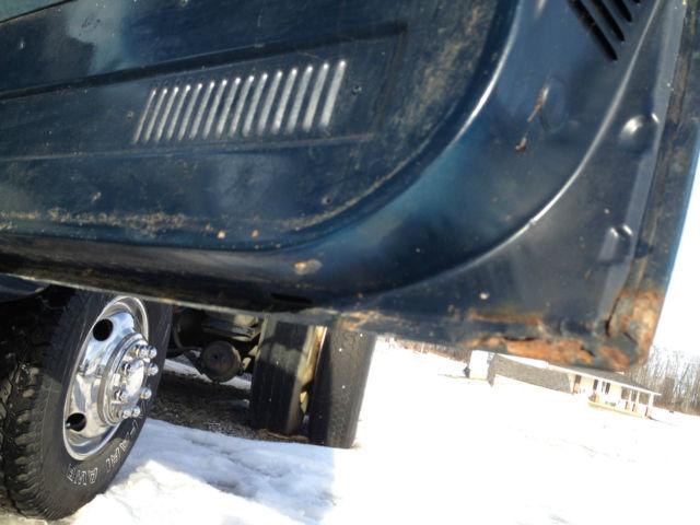 1988 Chevy K30 4x4 1 Ton Dump W Plow 55 000 Miles