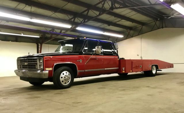 1988 Chevy Silverado 3500 3 3 Car Hauler Hodges Bed