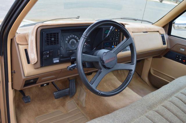 1988 Chevy Silverado SS Beachcomber Custom origanal truck ...