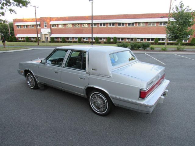 1988 Chrysler New Yorker Turbo 91k Miles Classic