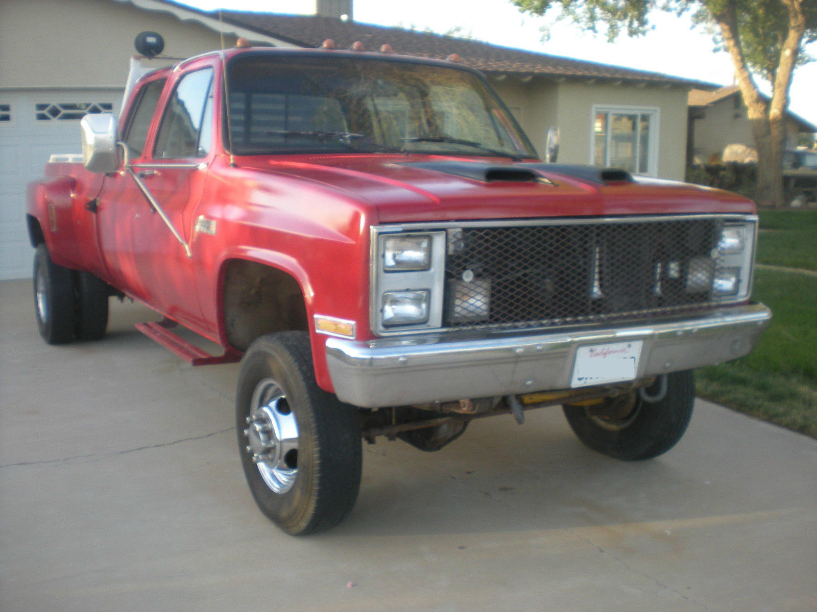 1988 crew cab dulley 4wd 1 ton sierra classic 3500 classic gmc sierra 3500 1988 for sale. Black Bedroom Furniture Sets. Home Design Ideas