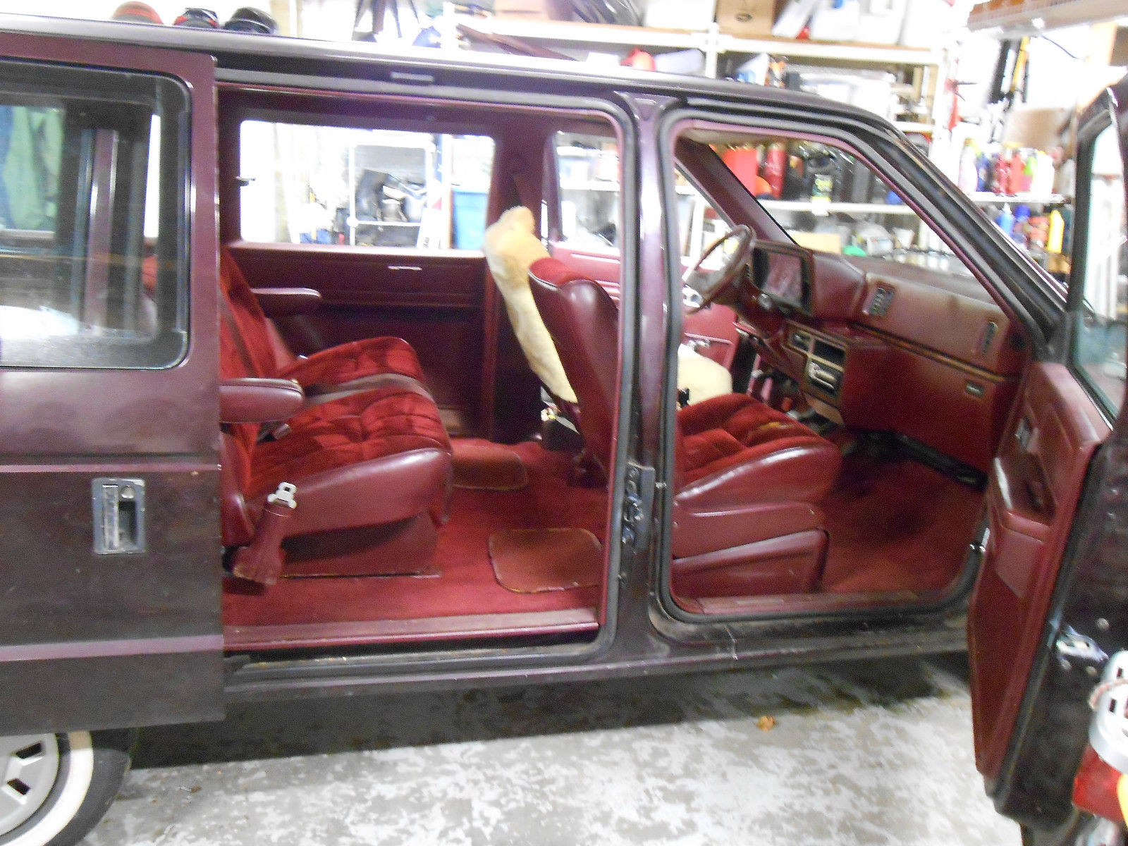 1988 Dodge Caravan manual Base Mini Passenger Van 3-Door 2 ...