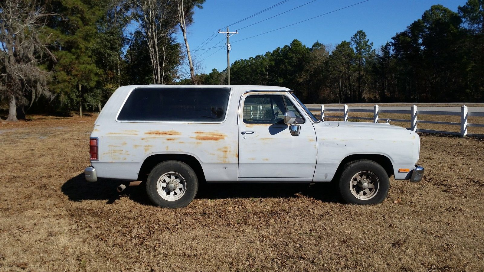 1988 Dodge Ramcharger 2wd Classic Dodge Ramcharger 1988 For Sale