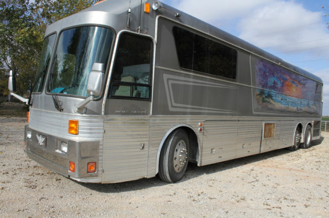 1988 eagle private coach model 15 detroit motor 92 ser Silver eagle motor coach