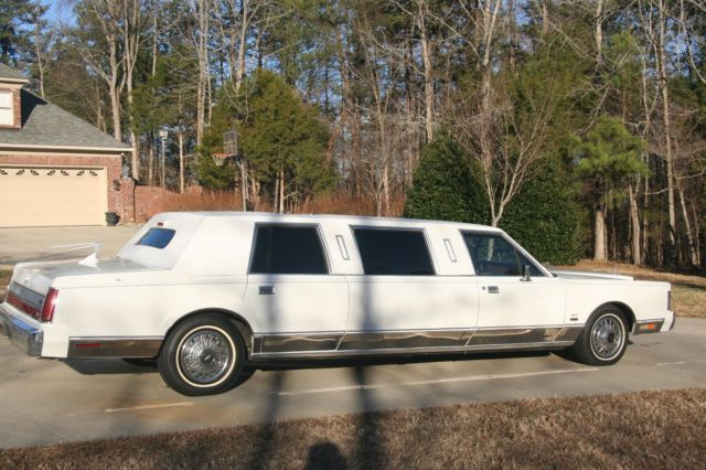 1988 Executive President Lincoln Limo Rare Survivor Purchased New