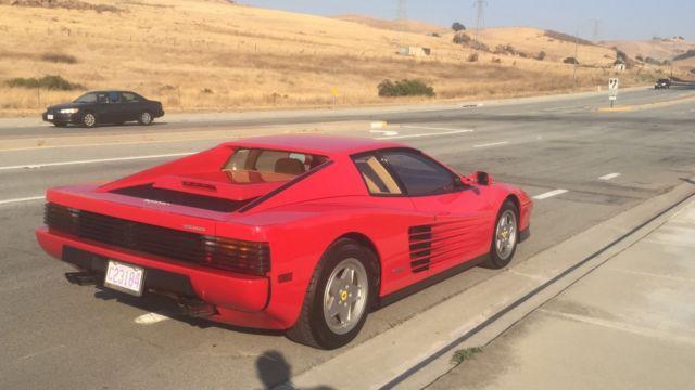 1988 Ferrari Testarossa Fully Serviced All Records Since 1998