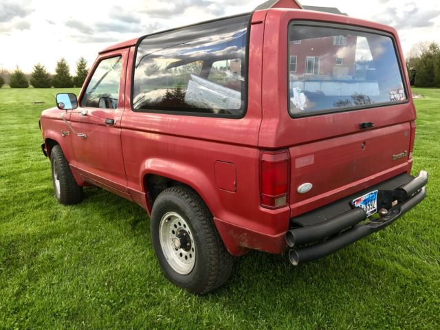 1988 Ford Bronco II XL 4X4 Southern truck NO RUST- New ...