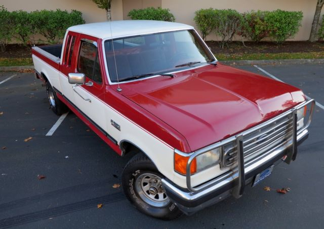 1988 ford f 150 xlt lariat clean supercab 4x4 ready to drive anywhere classic ford f. Black Bedroom Furniture Sets. Home Design Ideas