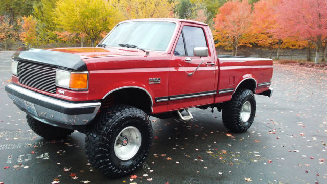 1988 Ford F150 4x4 Short Bed Lifted Rebuilt Motor Classic Ford F