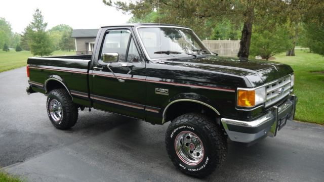 Ford F150 Factory Rims For Sale >> 1988 Ford F150 XLT Lariat 4X4 Short Box - Only 43,867 Actual Miles! - Classic Ford F-150 1988 ...
