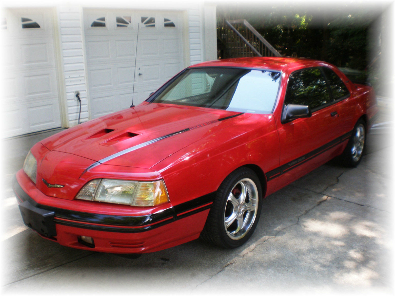 1988 Ford Thunderbird Turbo Coupe Mach 1 Special Edition