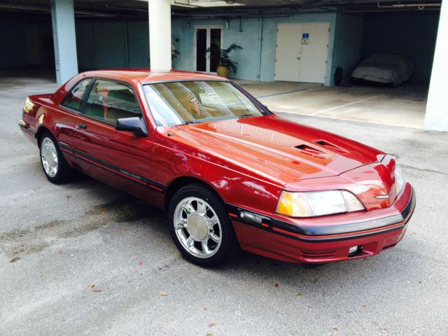 1988 Ford Thunderbird Turbo Sedan 2 Door 2 3l 77 000 Miles