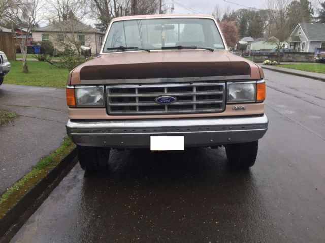 1988 ford truck f250 3 4 ton pickup 7 5 l 460 cid v8. Black Bedroom Furniture Sets. Home Design Ideas
