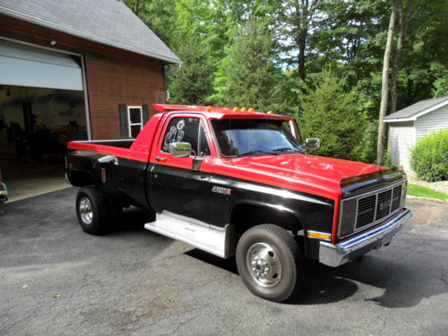 1988 gmc sierra classic 3500 pick up dually classic gmc sierra 3500 1988 for sale. Black Bedroom Furniture Sets. Home Design Ideas