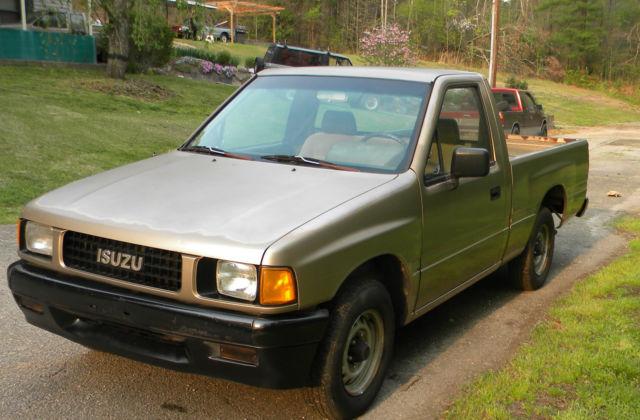 1988 isuzu pickup truck pup diesel
