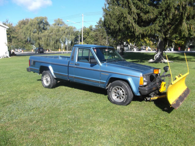 1988 Jeep Comanche Pioneer 4x4 with Meyer Snow Plow ...