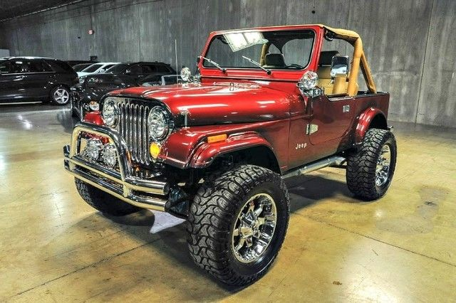 Jeep Wrangler For Sale In Sc >> 1988 Jeep Wrangler Custom 0 Electric Red Metallic Wagon ...