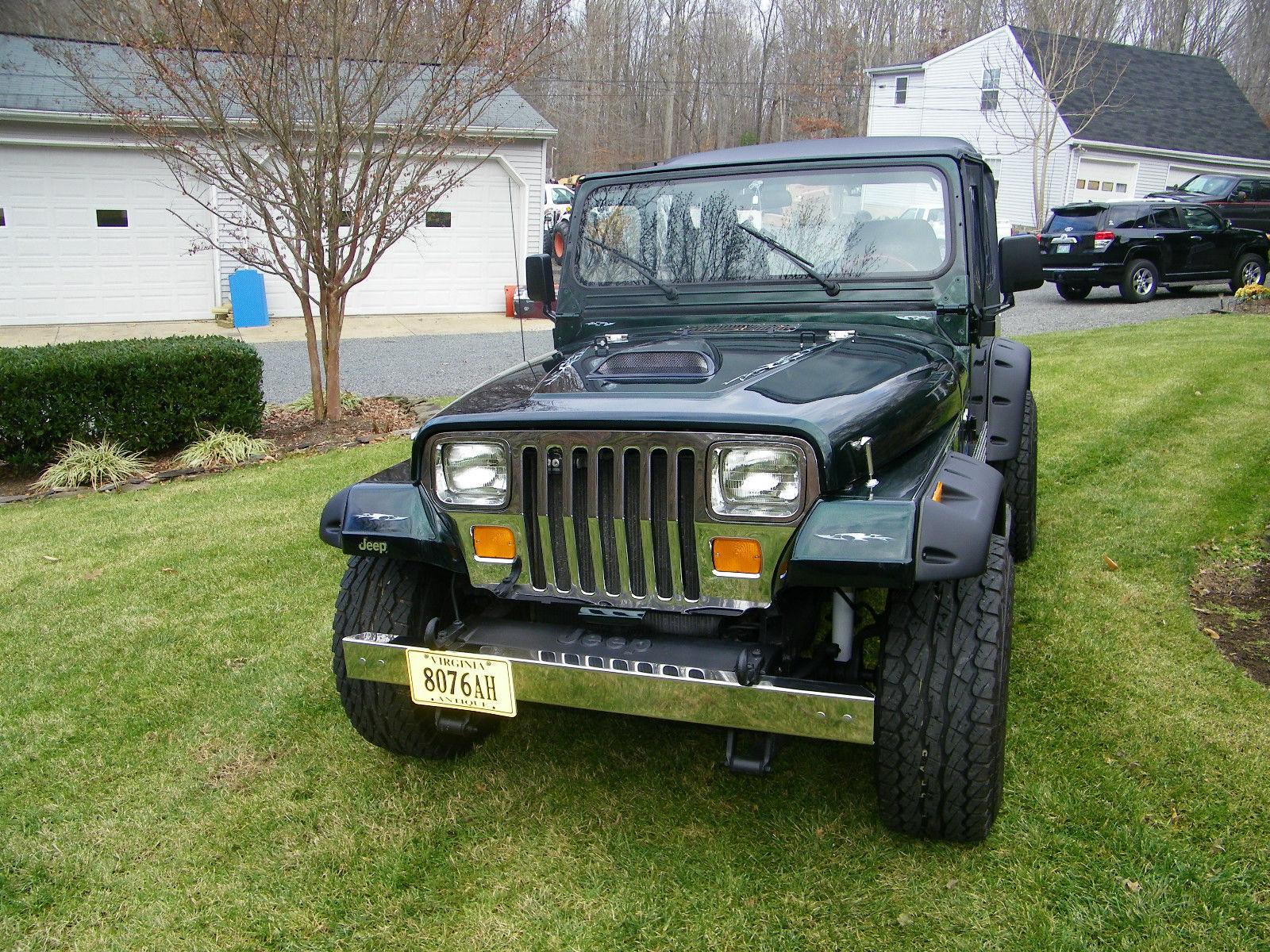 1988 Jeep Wrangler Sahara Sport Utility 2 Door 42l Classic Hard Top