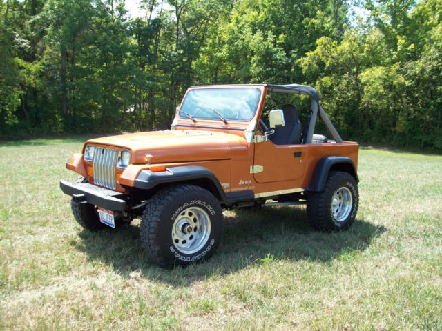 diesel 5 speed trans vgc classic jeep wrangler 1988 for sale. Cars Review. Best American Auto & Cars Review