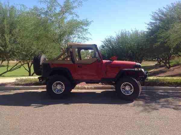 1988 Jeep Wrangler Yj 6 Quot Lift 33 Quot Tires Rebuilt Engine