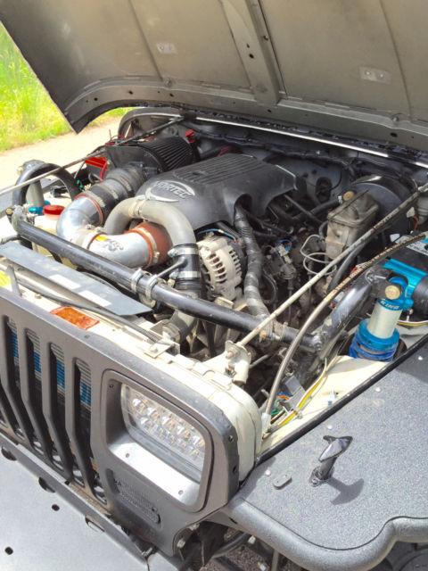 1988 jeep wrangler yj v8 4x4 5 3l vortec swap  axle swap