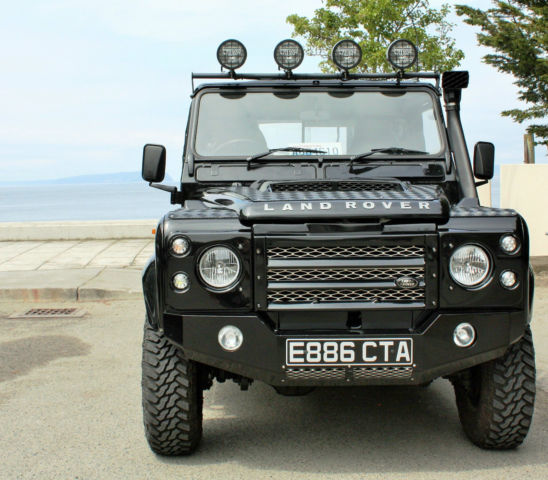 "1988 Land Rover Defender 110 Pick Up ""The Black Puma"