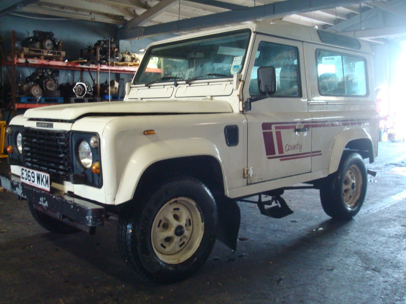 1988 land rover defender 90 turbo diesel runs drives great us titled csw classic land rover. Black Bedroom Furniture Sets. Home Design Ideas
