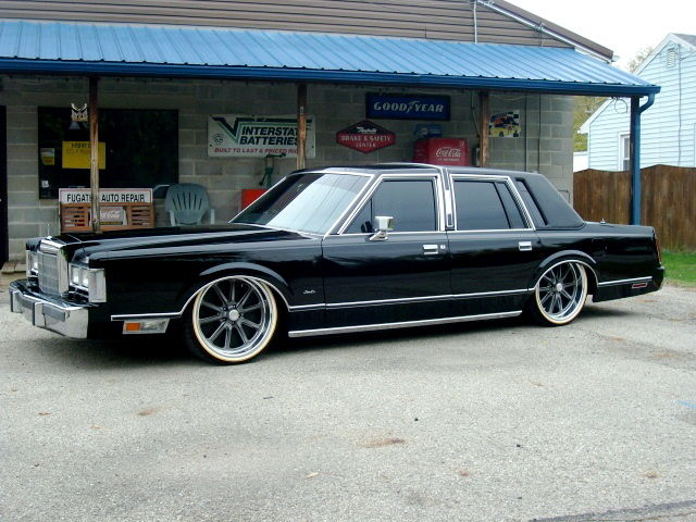 Original Cost Of New  Lincoln Town Car