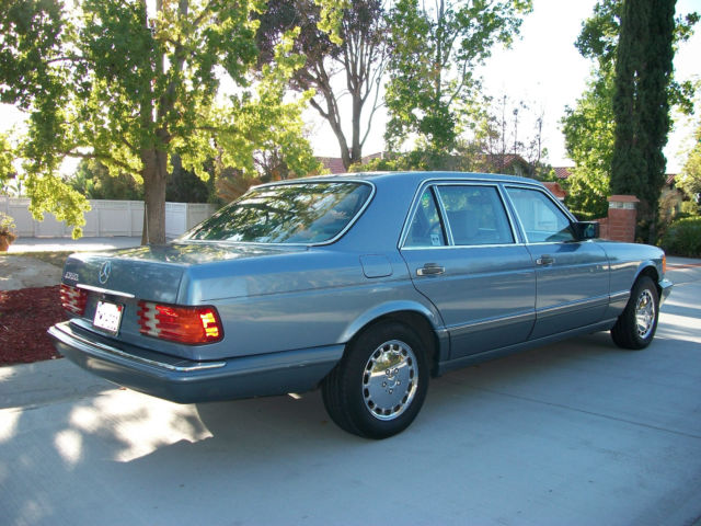 1988 mercedes 400 series 420 sel no reserve classic for 1988 mercedes benz 420sel for sale